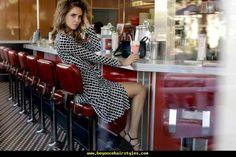 Chiara Ferragni in Diana Von Fürstenberg The Blonde Salad, Diane Von Furstenberg, Amazing Women, Fashion Beauty, Women's Fashion, Wrap Dress, Celebrities, Hair Styles, Journey