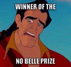 #SundayFunnies  #BeautyandtheBeast #Gaston #Disney #DisneyCartoon #DisneyPrincess #Pun #Puns