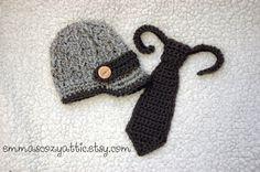 Infant boy hat baby newborn boy hat newsboy hat by emmascozyattic, $40.00