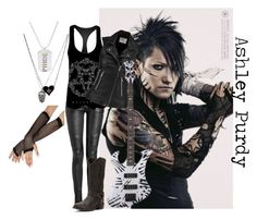 """""""Ashley Purdy"""" by myinnerdarkness on Polyvore featuring Frye, IRO and Rainbow"""