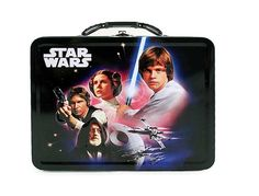 80s Star Wars Metal Lunchbox--My brother had this exact one.