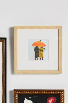 Umbrella Couple Wall Art Mirror Wall Art, Wall Art Decor, Mirrors, Arts And Crafts House, Damask Wallpaper, Painting Inspiration, Bedroom Inspiration, Fine Art Paper, Custom Framing