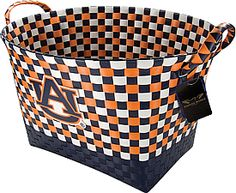Love this tailgating basket to carry food in!