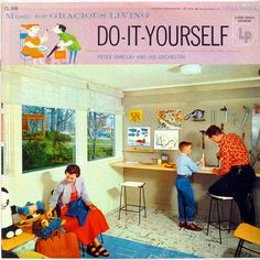 Music for Gracious Living - Do-It-Yourself  Barclay, Peter and his Orchestra  Columbia CL 698  1955
