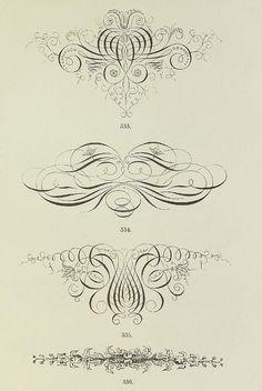 Schrift- und Polytypen-Proben BG Teubner, 1846 m Flourish Calligraphy, Old Letters, Printable Crafts, Printables, Line Work Tattoo, Vintage Typography, Penmanship, Vintage Labels, City Art