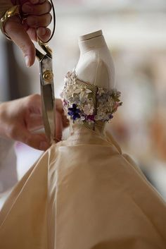 floral dress Dior at Harrod's - Mini Fashion Theatre