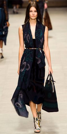 2bafffcd7f7d Runway Looks We Love  Burberry Prorsum. Burberry Fall 2014Burberry ...