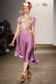 Gretchen Jones for Shoes of Prey New York Fashion Week 2013