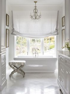 Clean & Light Beautiful Bathroom | Chenault James Interiors