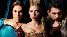 """The Other Boleyn Girl- Natalie Portman & Scarlet Johanson. """"Because she's my sister... ...and therefore one half of me."""""""
