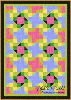Splash of Color quilt pattern, blog hop