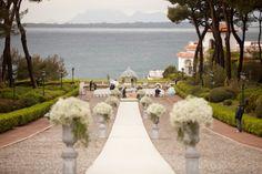 The Best Wedding Venues in the South of France, Hotel du Cap Eden Rock Wedding