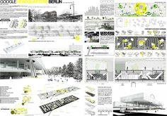 AWR - Architecture Workshop in Rome: FIRST PRIZE ADA 2011 - Architecture Dissertation Award // GOOGLE HEADQUARTERS BERLIN - Paloma Hendel, Spain