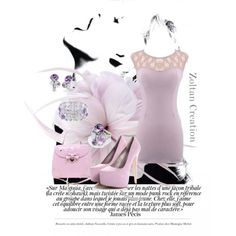 """""""sexy in pink"""" by zoltan-l on Polyvore"""