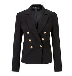 Miss Selfridge Black Military Blazer