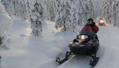 Mönkijä- ja moottorikelkkasafarit Small Towns, Beautiful Landscapes, Trekking, Finland, Mount Everest, Snow, Horses, Mountains, Nature