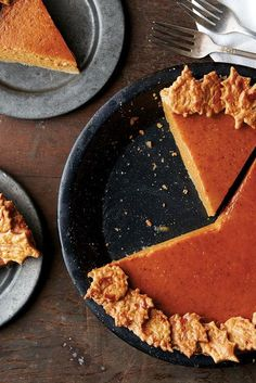 Pumpkin Pie Recipe from King Arthur Flour. This uses black pepper! Can't wait to try.