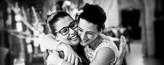 L'abbraccio più sincero tra wedding planner e la sua sposa