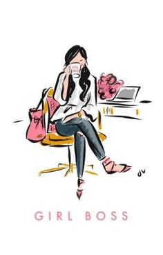 Fashion Illustration Ideas Image of Girl Boss Office Print - Original illustration by Jennifer Vallez - reprinted on archival quality etching rag. Fashion Prints, Fashion Art, Fashion Painting, Boss Wallpaper, Office Wallpaper, Girl Boss Quotes, Bossy Quotes, Youth Quotes, Modelos Fashion