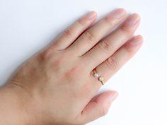 ジルコニアパールリング ¥16,500(in tax) #ring #jewelry #pearl #wedding #zirconia
