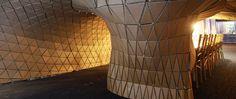 Pupa habitat at Bloomberg office by Lazerian, London