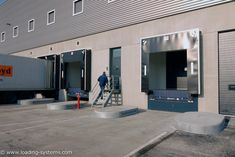 Loading systems is specialised in total solutions for loading and unloading service on dock equipment and industrial doors Glass Building, Industrial Door, Doors, Mirror, Closet, Furniture, Design, Home Decor, Armoire