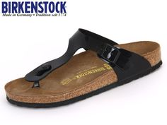 BIRKENSTOCK 043661 GIZEH 35-43 L4-12 black varnish