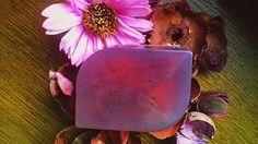 Mydło glicerynowe Wrzosowe Glycerine Soap with Heather handmade gift