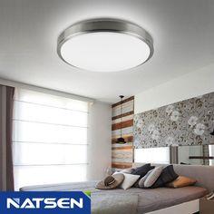 NATSEN Modern ceiling light fixture LED Ceiling lights Flush mount ceiling