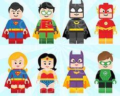 ... of lego superhero clipart