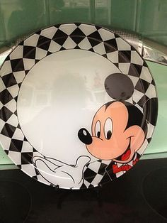 Disney VINTAGE Mickey Dish set