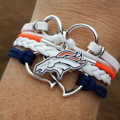 Hey, I found this really awesome Etsy listing at https://www.etsy.com/listing/214269754/nfl-denver-broncos-multi-strand