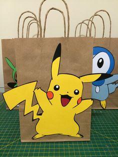Sacolinhas para lembrancinha Pokemon