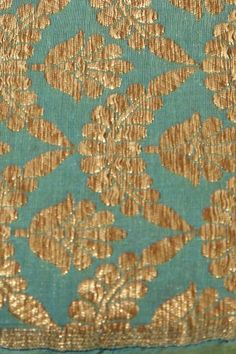 silk light teal blue fabric