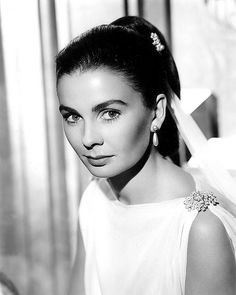 JEAN SIMMONS - Born: Jean Merilyn Simmons on January 31, 1929 in Crouch Hill, London, England, UK. As a 14-year-old dance student, she was plucked from her school to play Margaret Lockwood's precocious sister in Give Us the Moon (1944), and she went on to make a name for herself in such major British productions; as well as in Hollywood. Simmons was made an OBE for her services to film in 2003. She died on January 22, 2010 (age 80) in Santa Monica, California, USA.