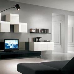 Living Room Units Modern 18 trendy tv wall units for your modern living room | tv walls, tv