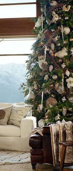 Rustic Christmas #Christmas Decor| http://christmas-decor-styles.kira.lemoncoin.org