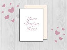 Mockup Card mockup Valentine mockup Wedding card mockup #card mockup #mockup Wedding Card, Mockup, Your Design, Unique Jewelry, Frame, Handmade Gifts, Cards, Etsy, Decor