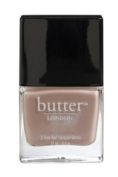 """""""This is a little weird, but I'm a big fan of mannequin hands. You know, when your nails blend right into your skin. """" Butter London in Yummy Mummy"""