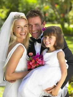 Blended Family Ceremony Ideas, I love the performing the weddings where the kids are included in the vows.