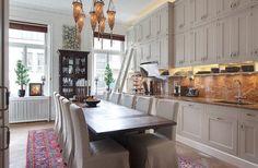 Swedish Apartment Interior Design Inspired by India | InteriorHolic.com