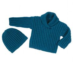 We Like Knitting: Baby Sweater & Hat - Free Pattern