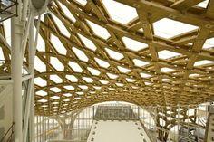 Parametric Design -- Shigeru Ban makes beautiful structures.