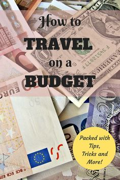 Tips, tricks and more on how to travel on a budget.