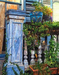 French Quarter Porch by John Boles