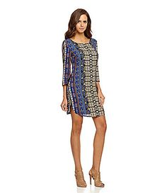 Gianni Bini Tribeca Tribal Shift Dress #Dillards---just purchased this dress. looking forward to wearing it