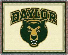 Amazon.com : Baylor Univ - 69 x 48 Blanket/Throw - Baylor Bears : Bedding & Bath