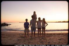 outdoor family portrait mystic ct