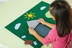 Kids' Project Supplies: Foam & Felt Board Project