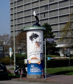#Special Ad . Sonderumsetzung für Nestlé Purina Petcare . Felix Katzenfutter . Frankfurt . 2014